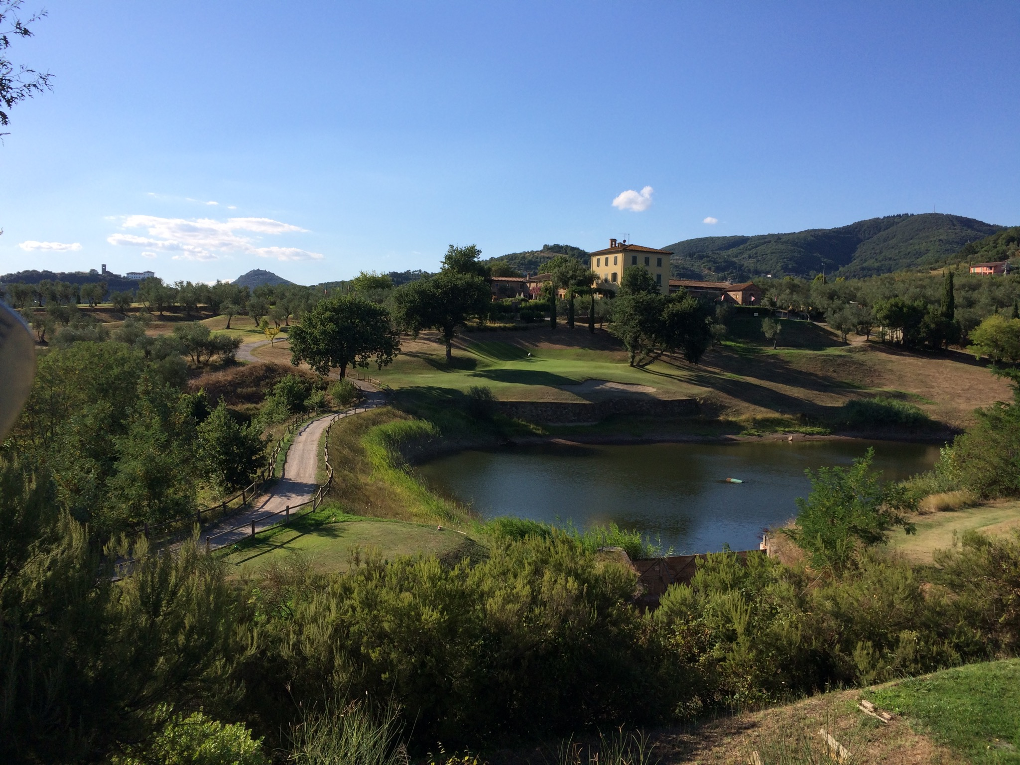 Golf in Toscana, location cerimonie, vacanze in agriturismo | Agriturismo Toscana Podere Marchiano